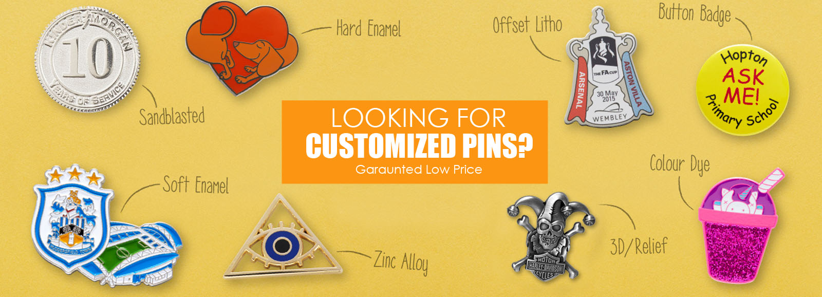 CUSTOM LAPEL PINS - PrintX   Products And Printing Services